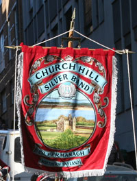 Fanen til Church Hill Silver Band