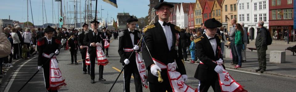 Sandvikens Bataljon på Buekorpsenes dag 2010