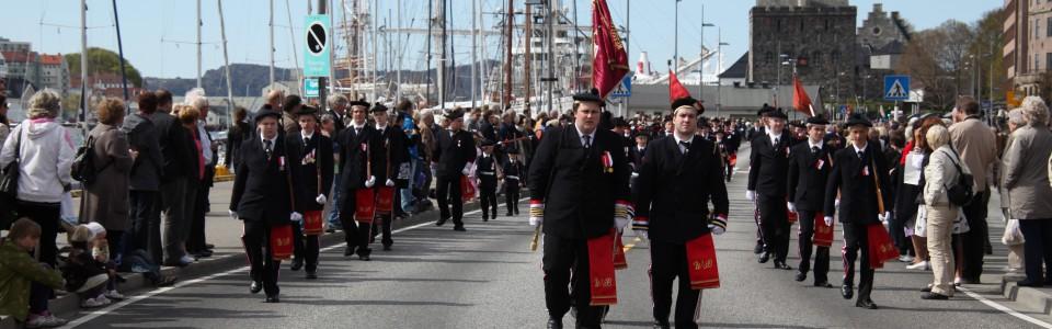 Wesselengens Bataljon på Buekorpsenes dag 2010