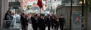 Dræggens Buekorps med nesten 100 man på linje stakk av med både BA-pokalen og 17.mai-komite-plaketten